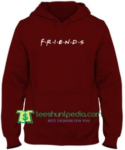 Friends Logo Hoodie Maker Cheap