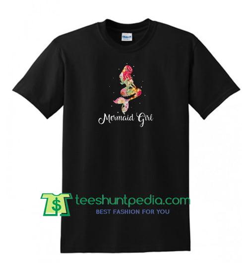 Mermaid girl shirt Maker Cheap