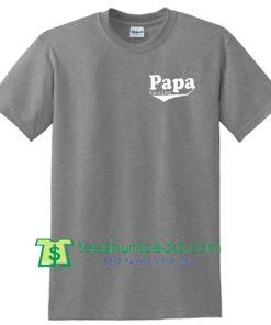 Papa Gift Papa Since 2015 Mens T shirt, Fathers Day Gift Husband Gift Dad Gift Shirt Maker Cheap