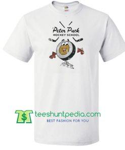Peter Puck hockey school shirt Maker Cheap