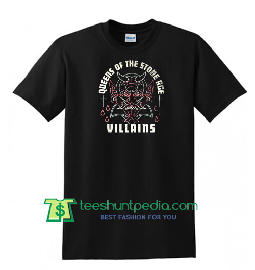 Queens of The Stone Age T Shirt Maker Cheap