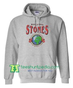 Rolling Stones Voodoo Lounge World Tour Hoodie Maker Cheap