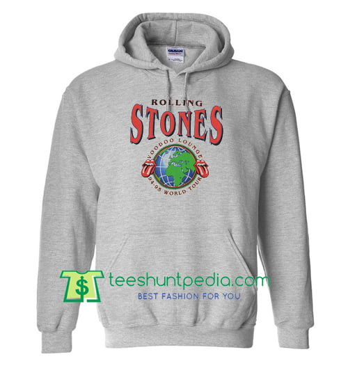 Rolling Stones Voodoo Lounge World Tour Hoodie Maker Cheap Rolling Stones Tour 2018