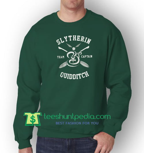 Slytherin Quidditch Sweatshirt Maker Cheap