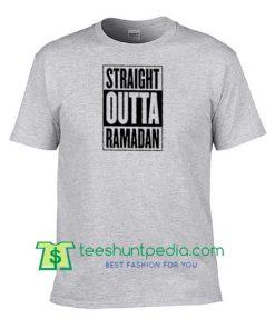 Straight Outta Ramadan 2018 Arabic Gift Muslim Shirt, Ramadan Celebration Muslim Ramadan Gift Shirt