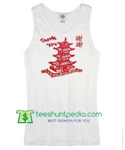 Thank You Chinese Tank top