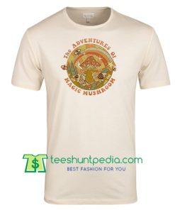 The Adventures of Magic Mushroom, Retro 70s 80s T shirt Maker Cheap
