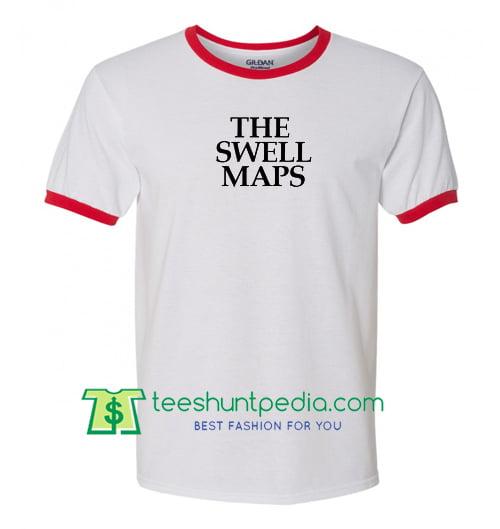 The Swell Maps Ringer T Shirt Maker Cheap