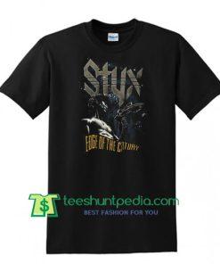 Vintage 90's Styx 1991 Edge of the Century Tour Shirt Maker Cheap