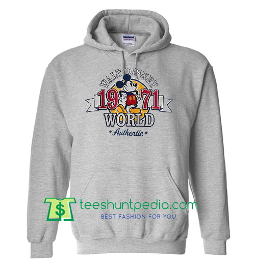 Walt Disney World 1971 Hoodie Maker Cheap