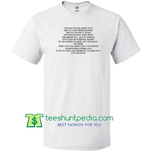 290d51b13fdc9 Why Do We Talk About Love T Shirt Maker Cheap – T Shirt Maker Cheap