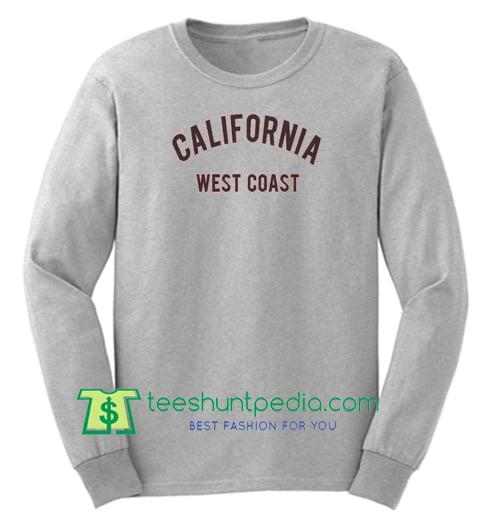 California West Coast Sweatshirt Maker Cheap
