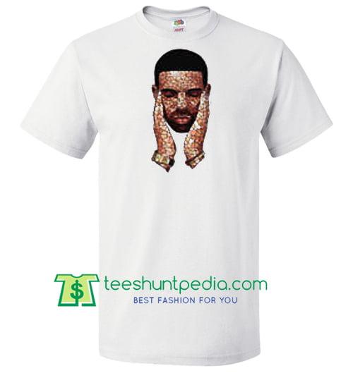 Drake Inspired Mosaic T Shirt, Scorpion By Drake, Drake Shirt Maker Cheap