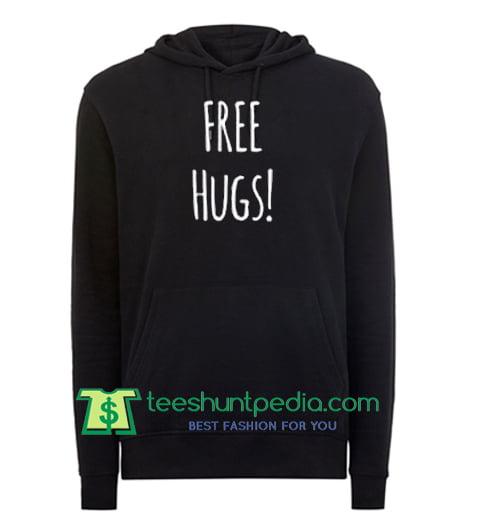 Free Hugs Hoodie Maker Cheap