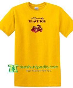I Love My Tractor T Shirt Maker Cheap
