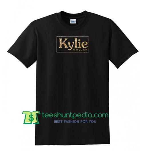 Kylie Minogue Shirt, Golden Logo Women's T Shirt Maker Cheap