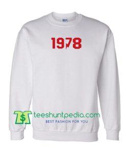 1978 Sweatshirt Maker Cheap
