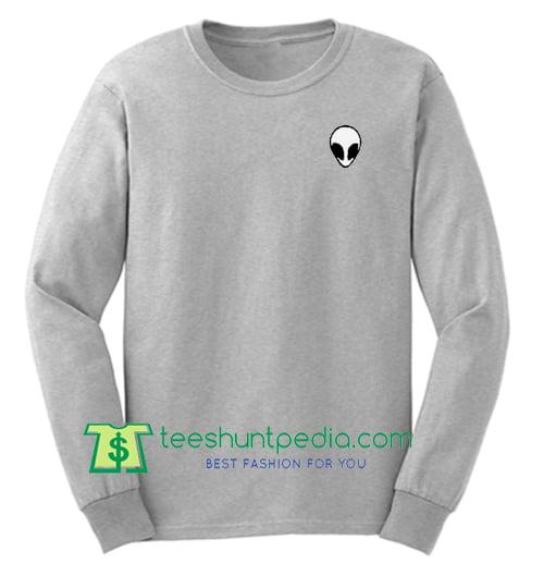Alien Crop Sweatshirt Maker Cheap