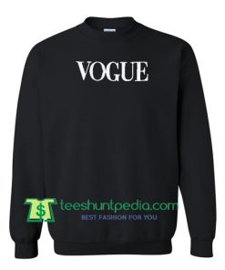 Vogue Pullover Sweatshirt Maker Cheap