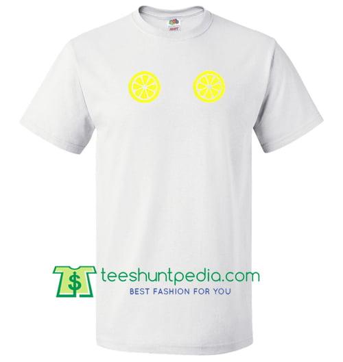 Lemon Boobs T Shirt Maker Cheap