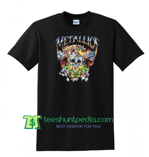 Metallica Checkered Flag T Shirt Maker Cheap