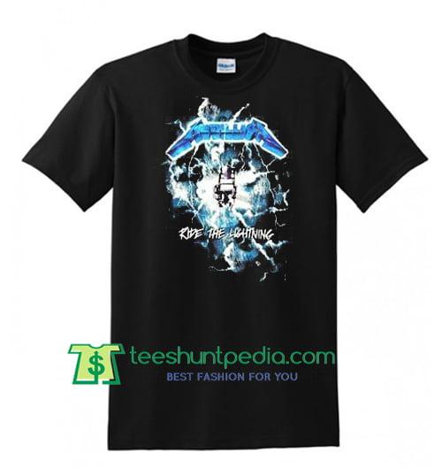 Metallica Ride The Lightning T Shirt Maker Cheap