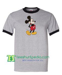 Mickey Mouse Ringer T Shirt Maker Cheap