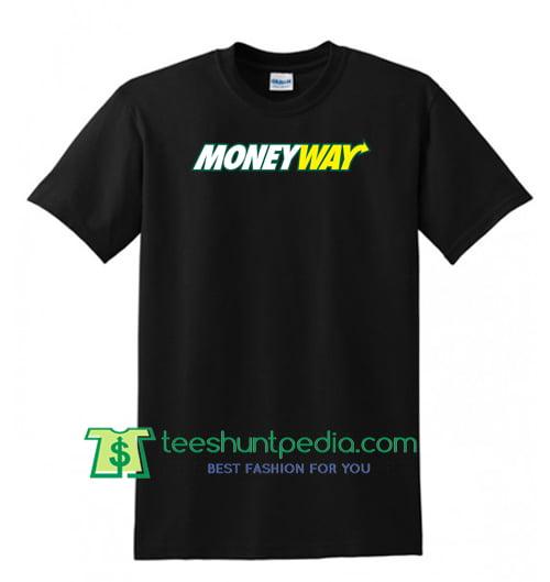 Money Way by Rich the Kid Tee Rich the Kid Shirt Maker Cheap