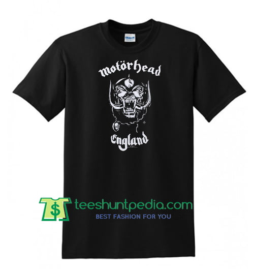 Motorhead England T Shirt Maker Cheap