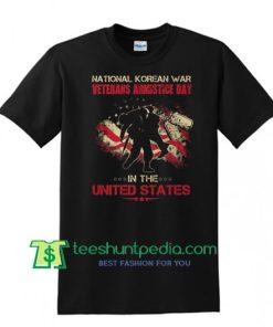 National Korean War Veterans Armistice Day T Shirt, United States Shirt Maker Cheap