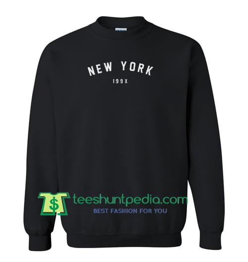 New York 199X Sweatshirt Maker Cheap