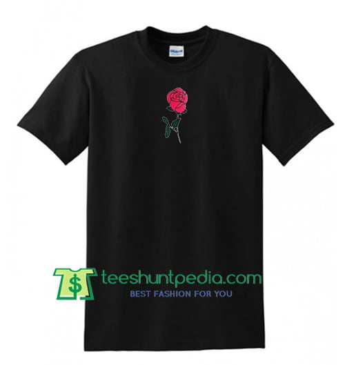 Red Rose T Shirt Maker Cheap