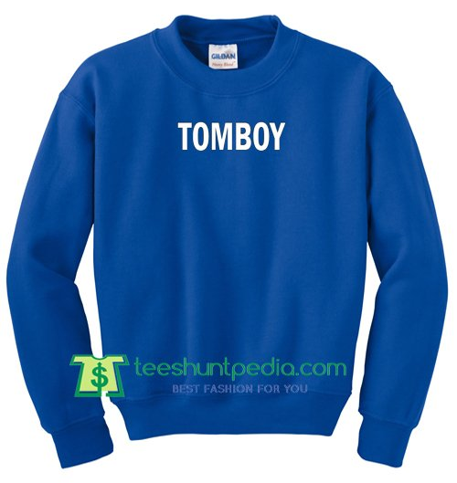 Tomboy Crewneck Sweatshirt Maker Cheap