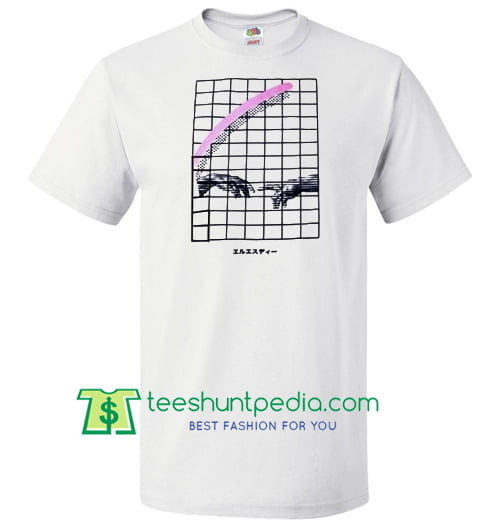 Vaporwave Hand T Shirt Maker Cheap