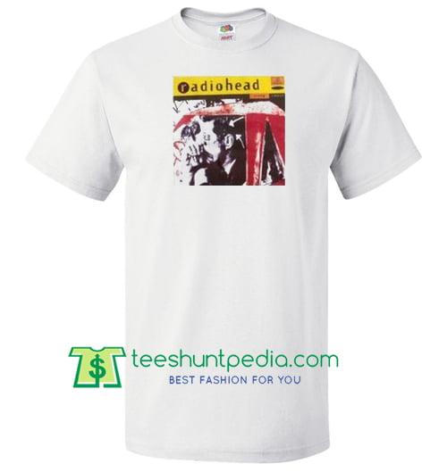 Vintage Radiohead T shirt Maker Cheap