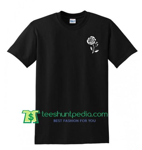 White Rose T Shirt Maker Cheap
