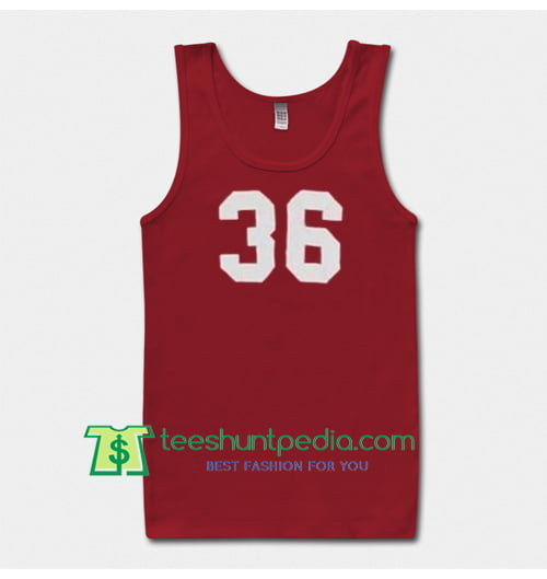 36 number Tanktop Maker Cheap