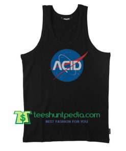 Acid Logo Nasa Tank Top gift shirt unisex custom clothing Size S-3XL