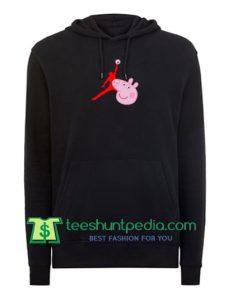 Air Jordan X Peppa Pig Parody Hoodie Maker Cheap