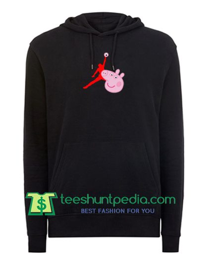 Air Jordan X Peppa Pig Parody Hoodie Maker Cheap