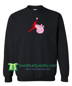 Air Jordan X Peppa Pig Parody Sweatshirt Maker Cheap