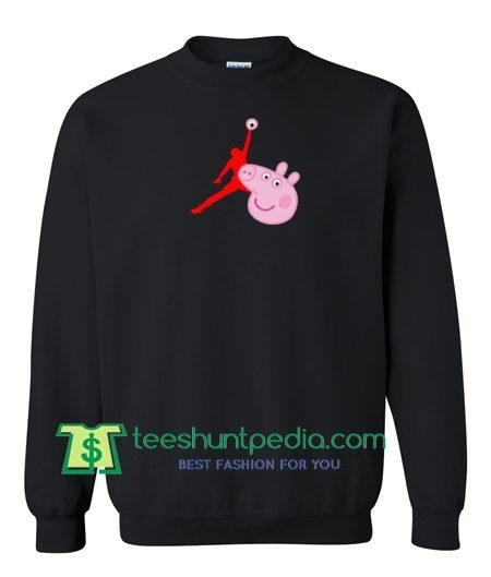 Air Jordan X Peppa Pig Parody Sweatshirt Maker Cheap