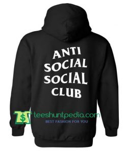 Antisocial Social Club BAck Hoodie Maker Cheap