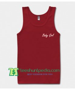 Baby Girl Font Tank Top gift shirt unisex custom clothing Size S-3XL