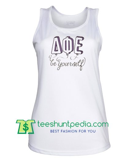 Be Your Self AQE Tank top gift shirt unisex custom clothing Size S-3XL