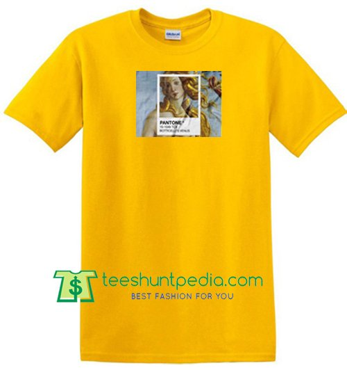 Botticelli's Venus T Shirt gift tees adult unisex custom clothing Size S-3XL