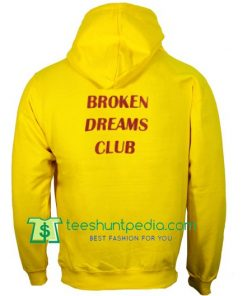 Broken Dreams Club Back Hoodie Maker Cheap