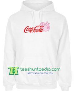 f2511ce9aea6 Coca Cola Coke X Peppa Pig Parody Hoodie Maker Cheap