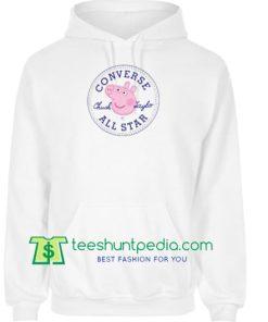 983bd291e623 Converse All Star X Peppa Pig Parody Hoodie Maker Cheap
