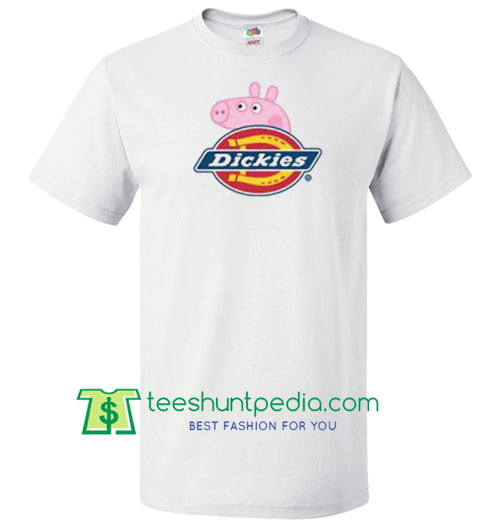 Dickies X Peppa Pig Parody T Shirt gift tees adult unisex custom clothing Size S-3XL